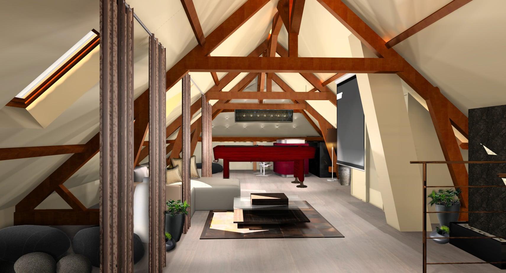 comment transformer ses combles en espace habitable. Black Bedroom Furniture Sets. Home Design Ideas