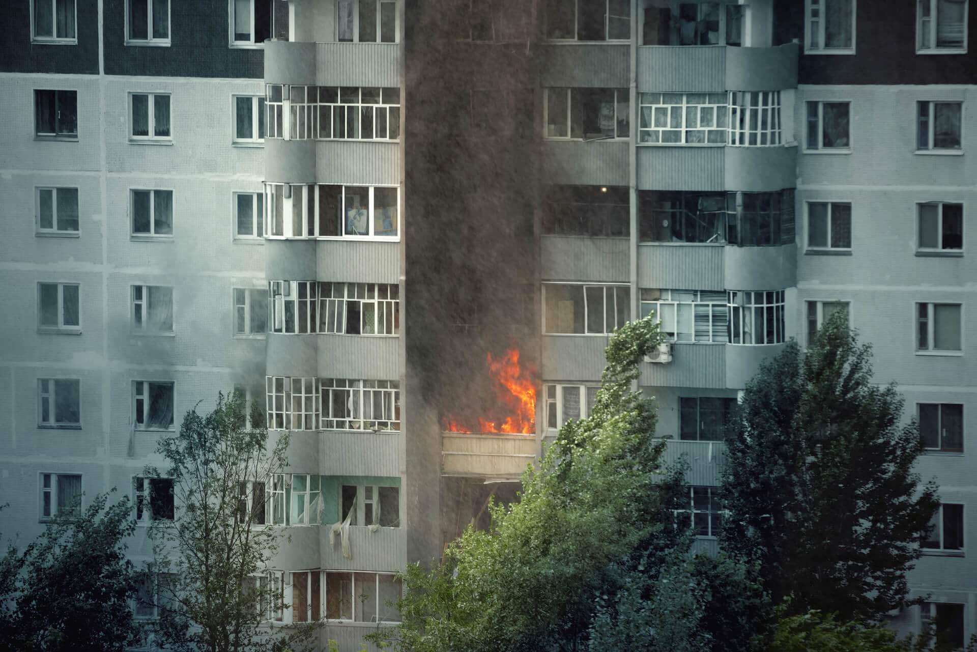 Incendie dans un immeuble, que se passe-t-il pour les locataires?