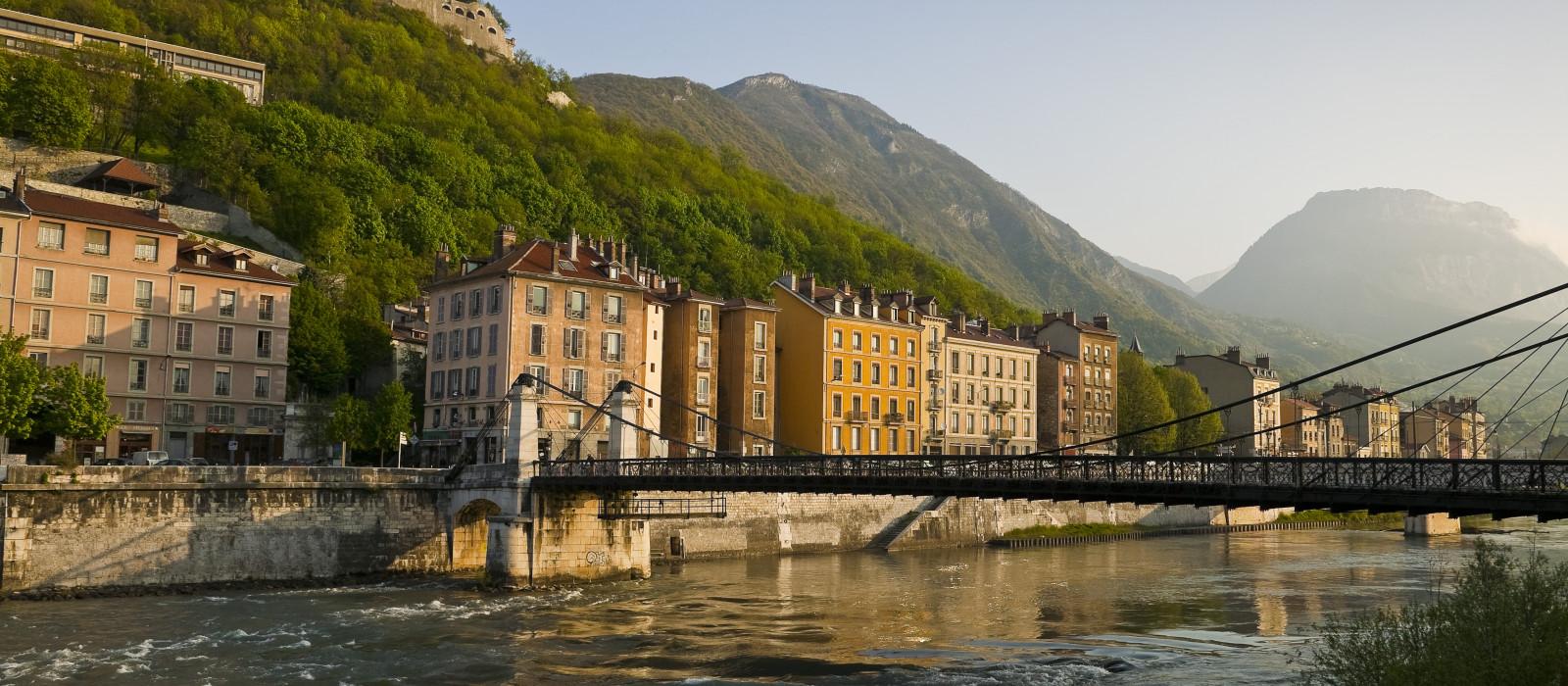 Quelques beaux quartiers à découvrir à Grenoble